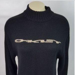 Oakley Sweater Mock Turtleneck Black